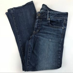 American Eagle Womens Jeans Size 12 SHORT Blue